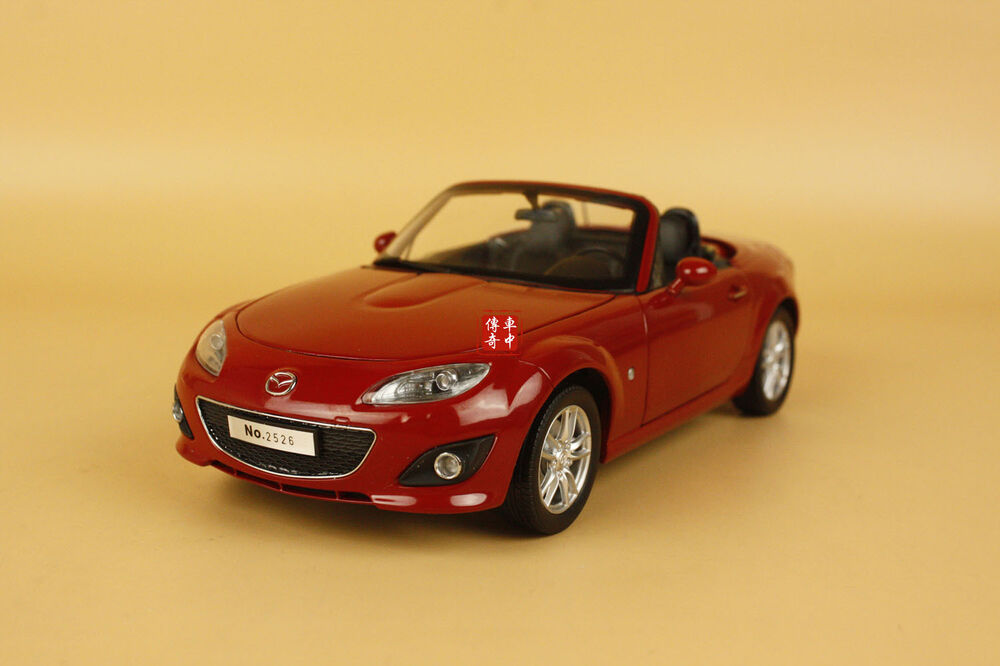 1 18 china mazda mx5 mx 5 die cast model red color ebay. Black Bedroom Furniture Sets. Home Design Ideas