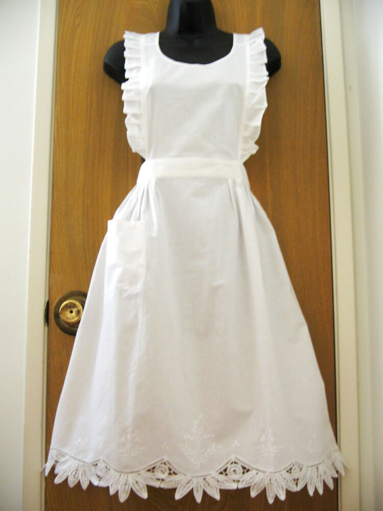 Old Fashioned Aprons Ebay