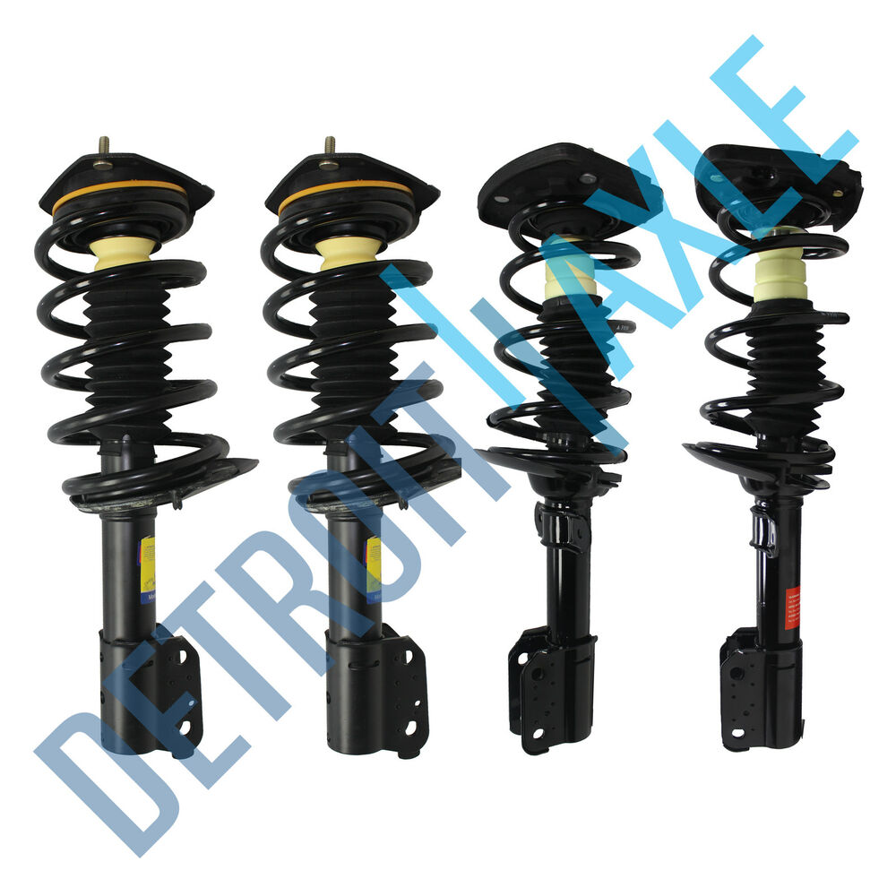 all 4 front rear complete strut spring assembly. Black Bedroom Furniture Sets. Home Design Ideas