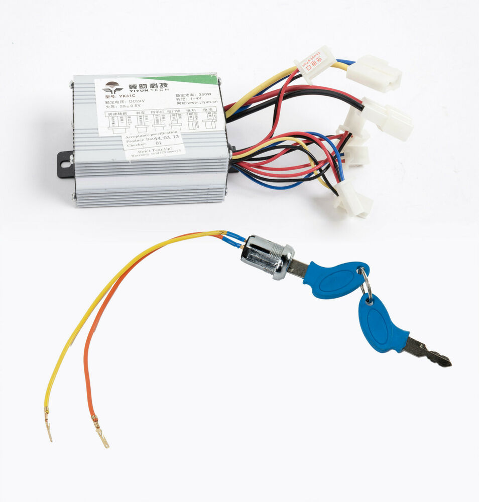 350w 24 v dc speed controller control box f scooter e bike for Electric motor control box