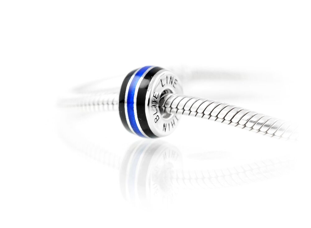 thin blue line charm by thin line 174 jewelry ebay