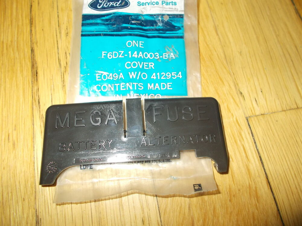 nos 1996 1997 ford taurus fuse box cover ebay. Black Bedroom Furniture Sets. Home Design Ideas