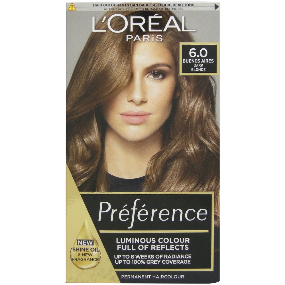 L Oreal Recital Preference 6 Capri Light Brown