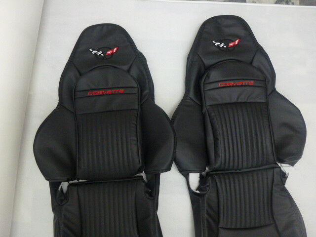 1997 2004 C5 Corvette Synthetic Leather Seat Covers Sports
