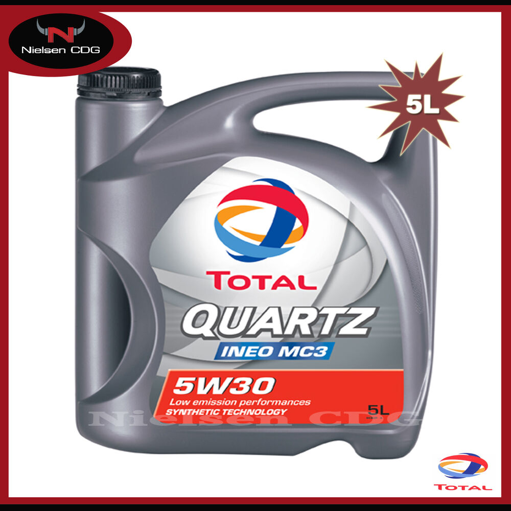 total quartz ineo mc3 5w30 engine oil 5 litre ebay. Black Bedroom Furniture Sets. Home Design Ideas