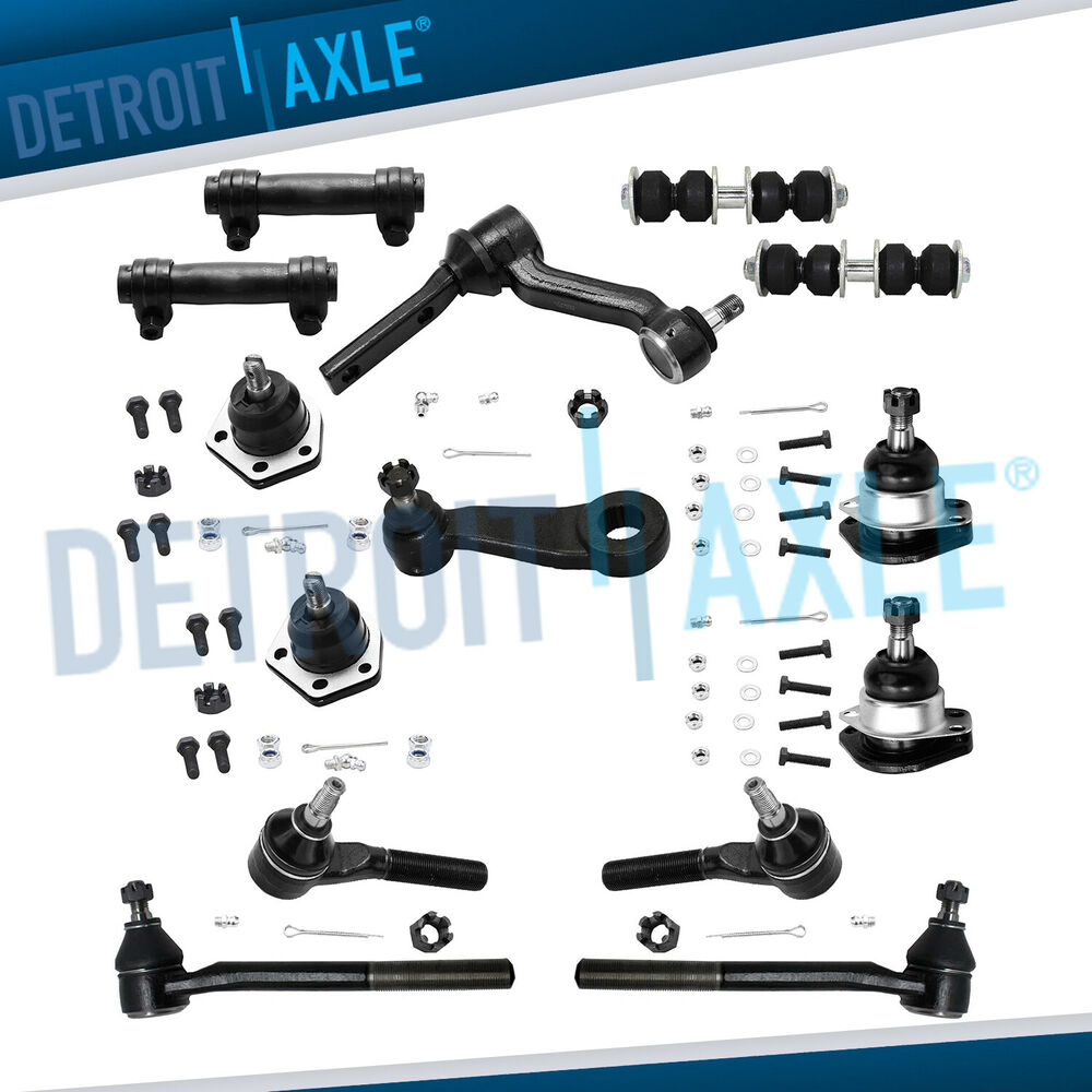 4x4 Suspension Diagram Starting Know About Wiring Kt76a Brand New 14pc Front Kit For Chevy And Gmc 4wd