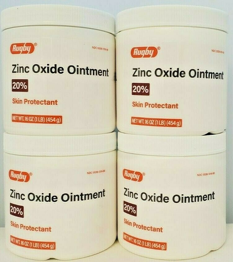 Rugby Zinc Oxide Ointment For Diaper Rash Amp Poison Ivy 1lb