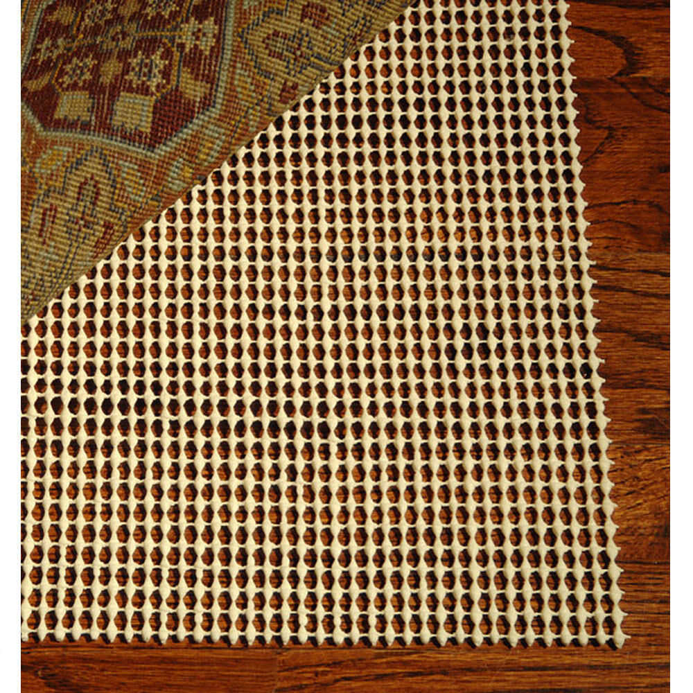 Rooster Tapestry Non Skid Rug: SUPER GRIP NON SLIP SKID PROTECTIVE UNDER RUG PAD For A 4
