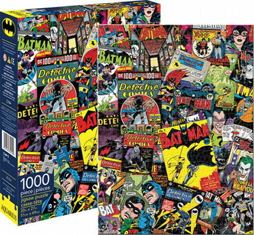 Book Cover Collage Game ~ Batman classic comic book covers collage piece jigsaw