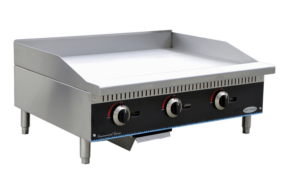 Commercial Griddles For Restaurants ~ Quot griddle commercial gas ebay