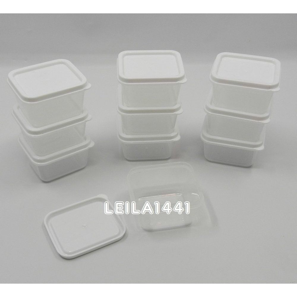 lots new small mini clear plastic food craft bead storage containers box w lids ebay. Black Bedroom Furniture Sets. Home Design Ideas