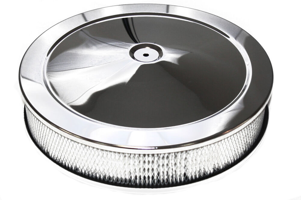 Hot Rod Air Cleaner : Quot x chrome air filter cleaner pro street touring hot