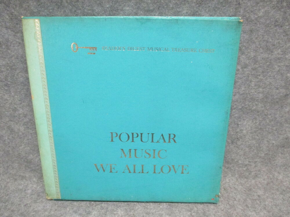 Details about   Popular Music We All Love (9) Record Box Set 33 LP Readers Digest RCA RDS-37