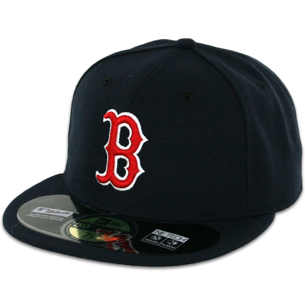 boston red sox game home new era 59fifty fitted caps mlb ac on field hats ebay. Black Bedroom Furniture Sets. Home Design Ideas