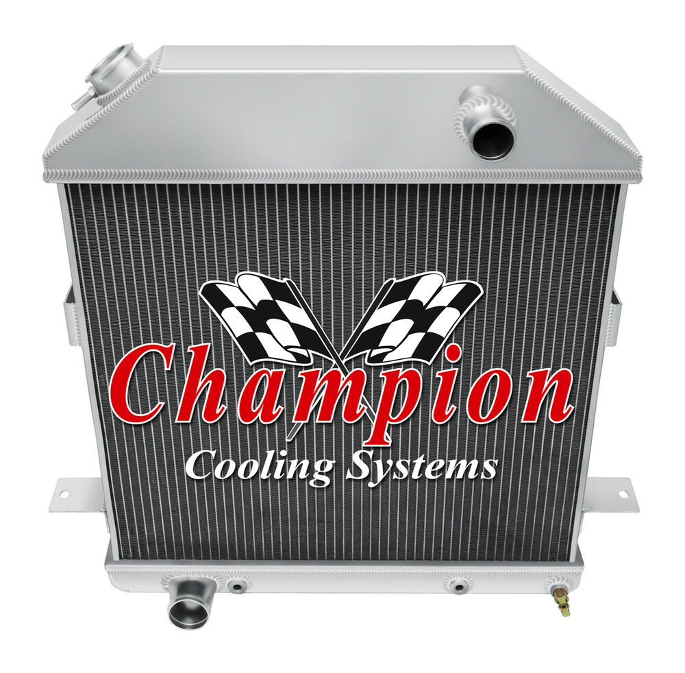 1939 40 41 ford deluxe with ford v8 champion 3 row aluminum radiator