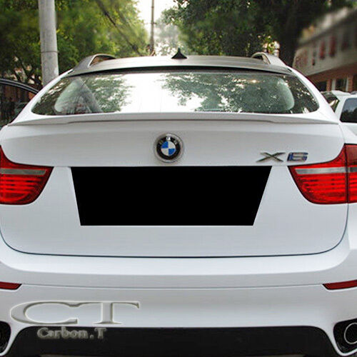 Painted Bmw E71 X6 Series Performance Type Rear Wing Trunk