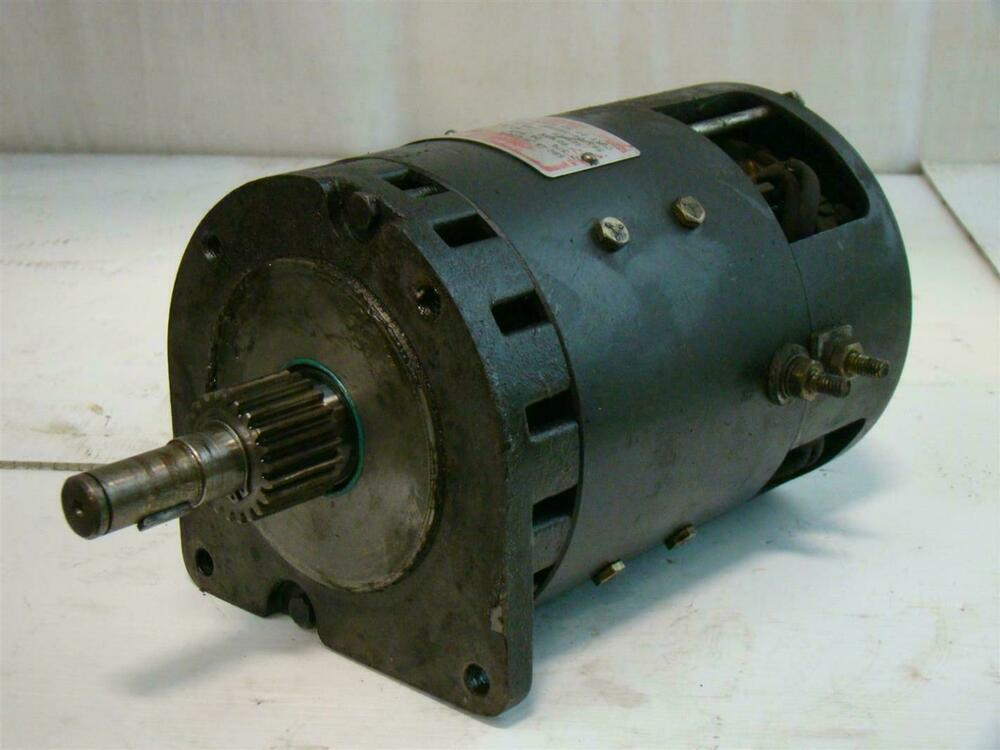 General Electric 2620rpm 2 3 4hp 5bc 48 Jb 676a Drive