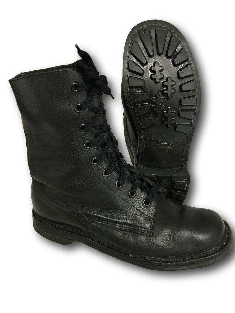 Belgian Paratrooper Boots, 8 Eye, Re-Conditioned Welted