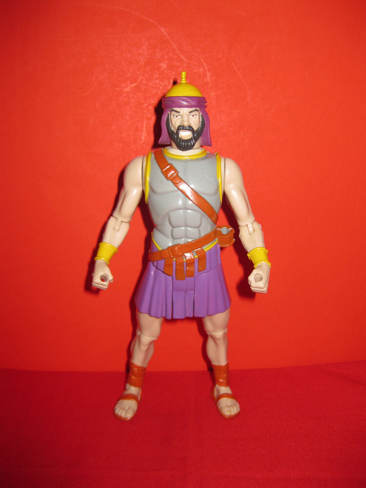 The Children's Discovery Bible David And Goliath Action ... |David And Goliath Action Figures