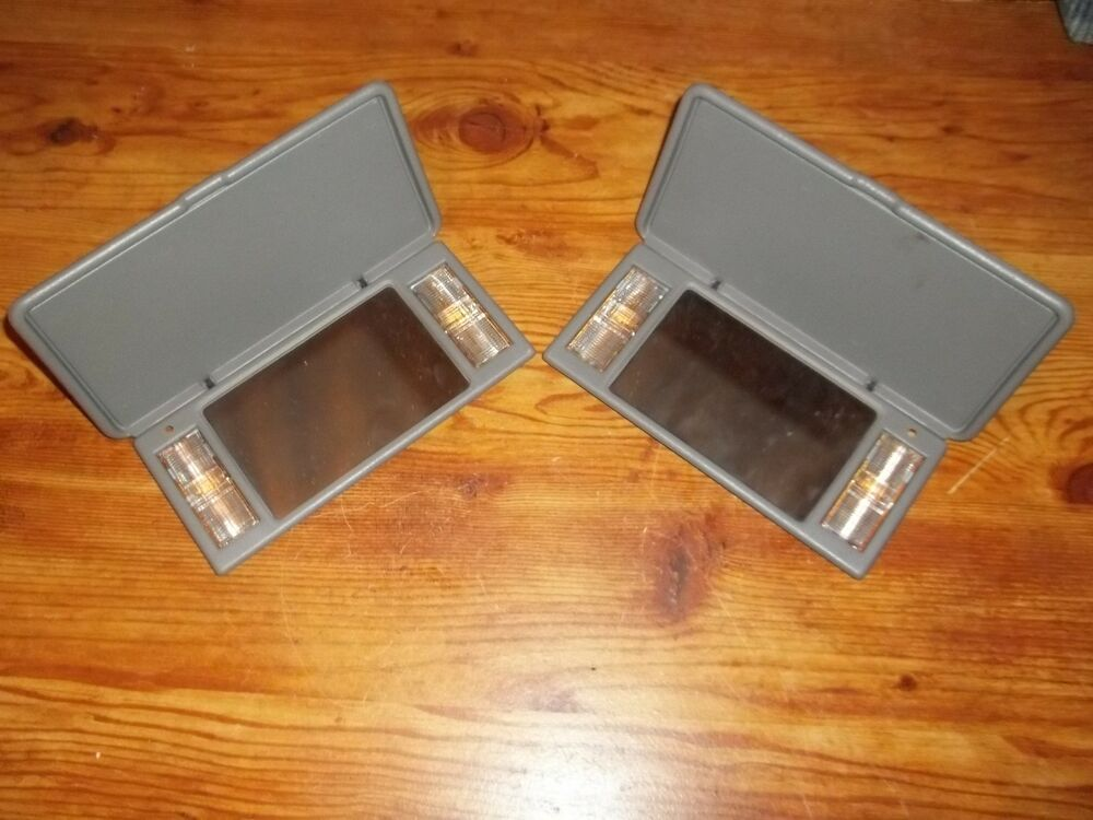 1995 2005 S10 Chevy Blazer Gmc Jimmy Sun Visor Mirrors