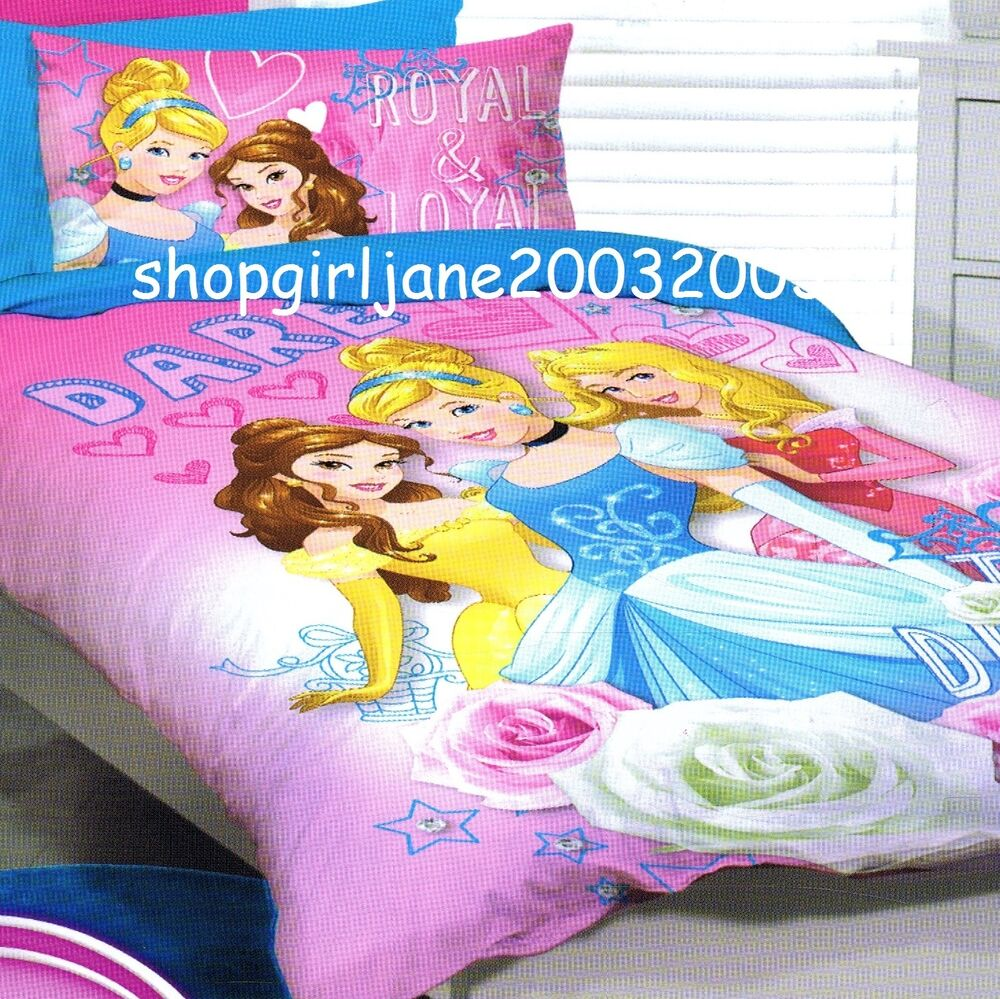 Disney Princess Dare To Dream Single Us Twin Bed Quilt