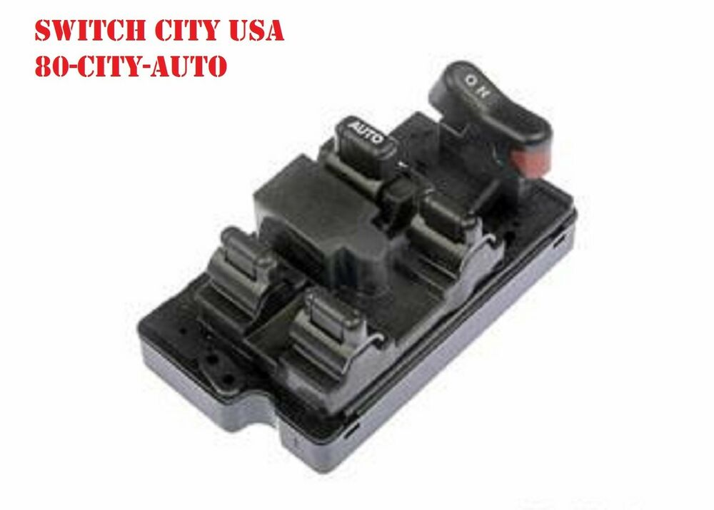 New honda accord master driver power window switch for 1994 honda accord power window switch