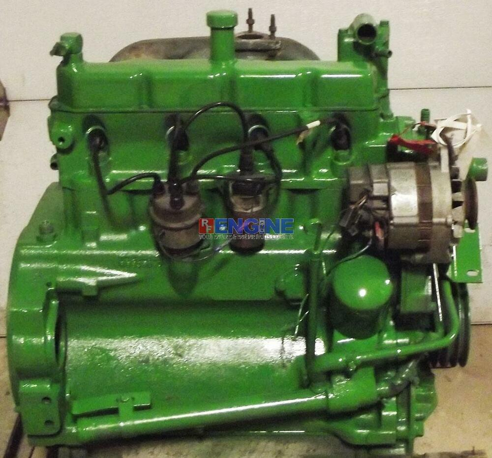 John Deere Engines : John deere engine good running block t runs