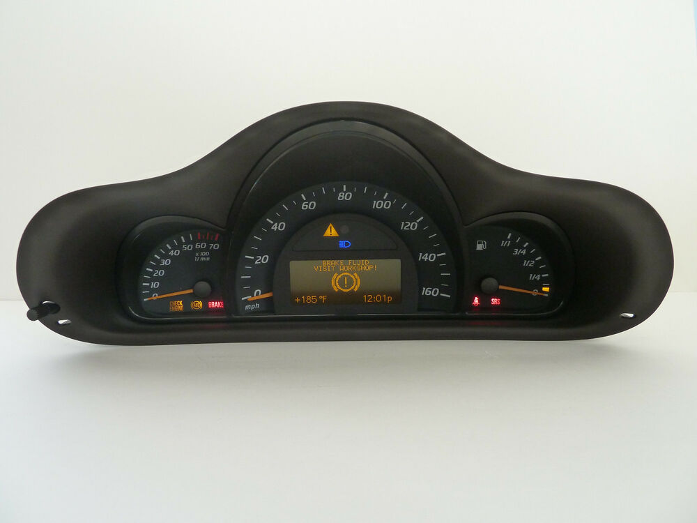 Mercedes benz c230 c320 c240 c55 amg w203 instrument for Mercedes benz cluster repair