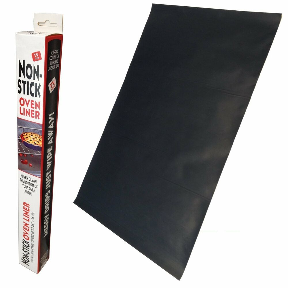 Oven Liner Clean Reusable Non Stick Coating Mat Ebay
