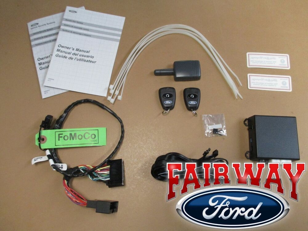 15 thru 17 Mustang OEM Genuine Ford Parts Remote Start ...