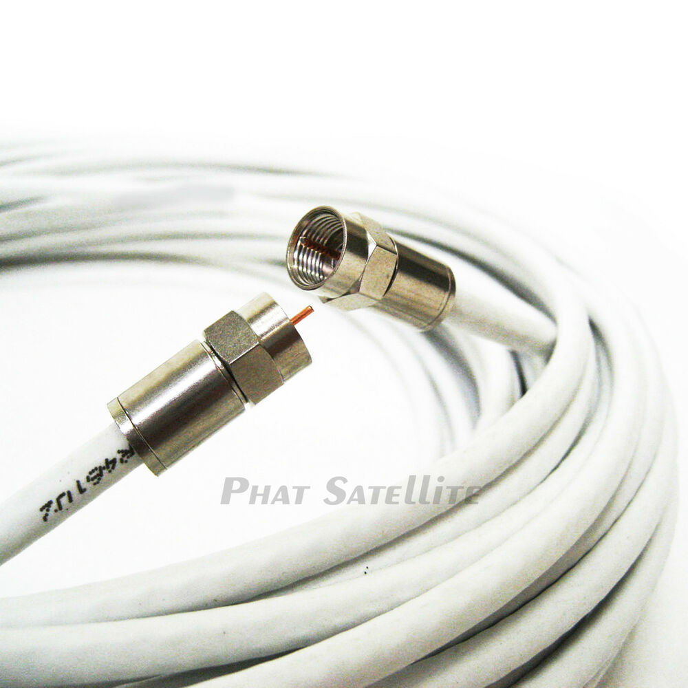 50ft Commscope Rg6 Coax Made In Usa 3ghz Ul Etl Rated Hd