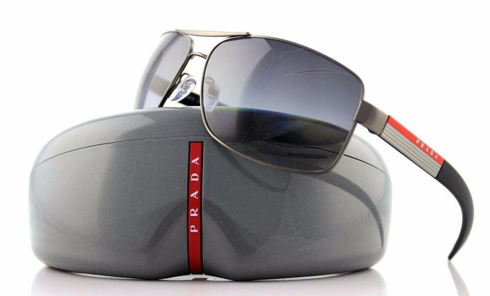 Details about POLARIZED RARE Genuine PRADA Sport Mens Metal Sunglasses PS  54IS 7CQ5W1 SPS 54I 73154293727b5