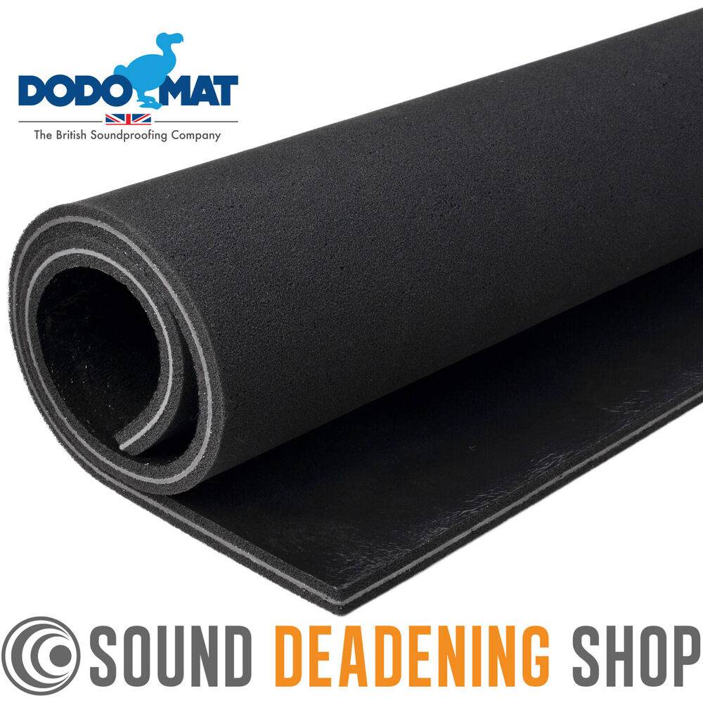 Dodo Sound Stopper Mlv 15mm Car Van Proofing Insulation Mat Acoustic Foam Liner Ebay