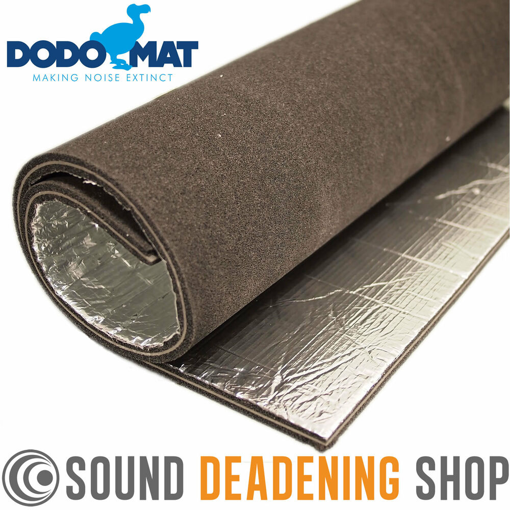dodo sound stopper mlv 15mm car van proofing insulation mat acoustic foam liner ebay. Black Bedroom Furniture Sets. Home Design Ideas