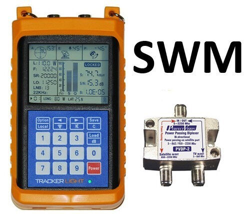 Tracker Light Satellite Signal Meter Swm Compatible
