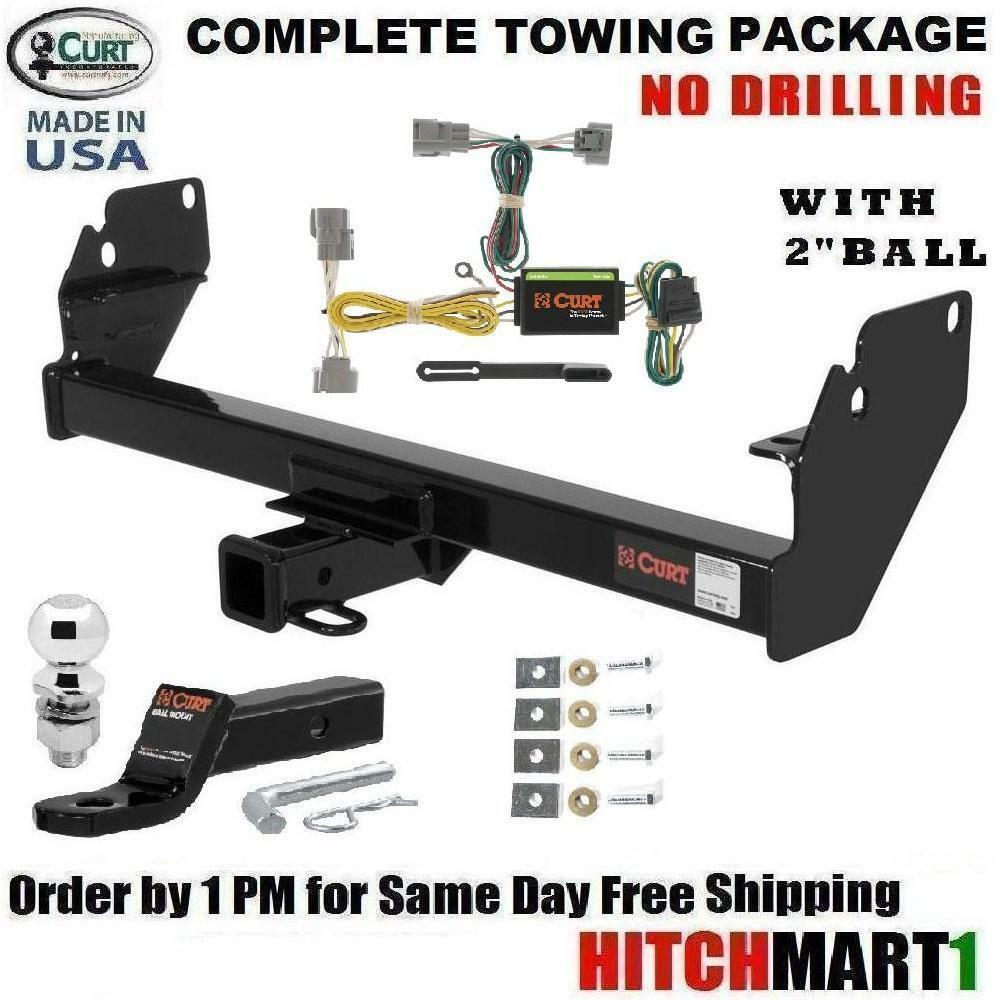 Toyota Tacoma Tow Package Wiring Free Diagram For You Pick Up Harness Fits 2005 2015 Pickup Class 3 Curt Trailer Towing