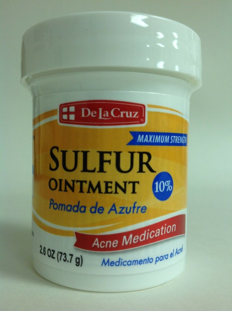 Sulfur for acne treatment