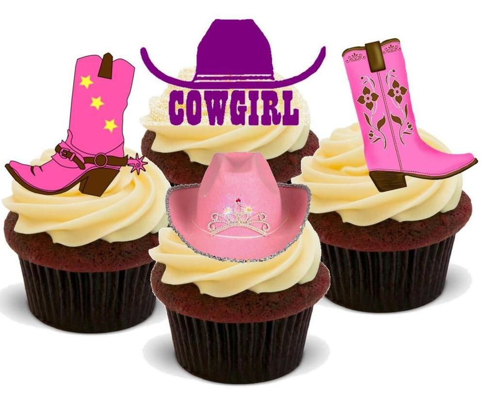 Wild West Cake Toppers