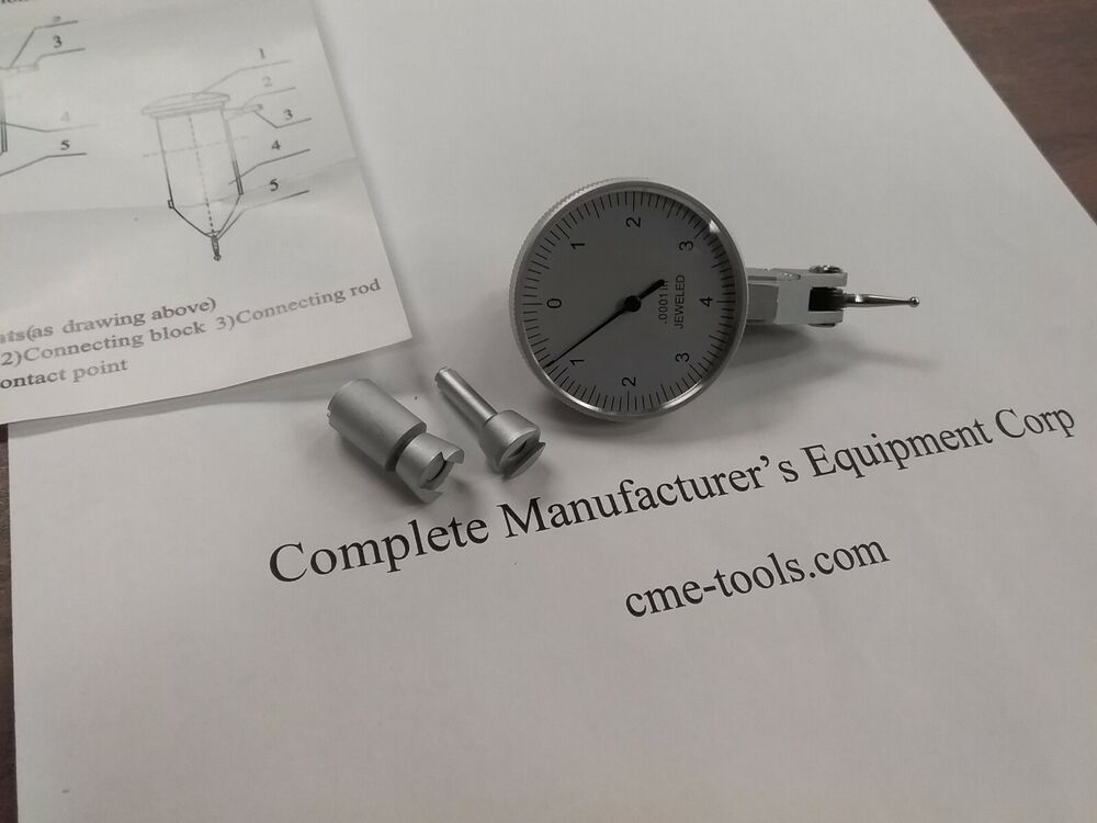 Dial Indicator Accessories : Quot dial test indicator with pcs