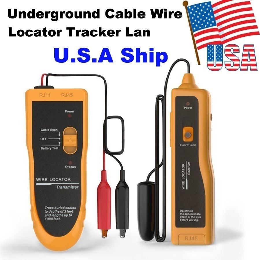 Cable Line Locator : Usa shipping nf underground cable wire locator tracker