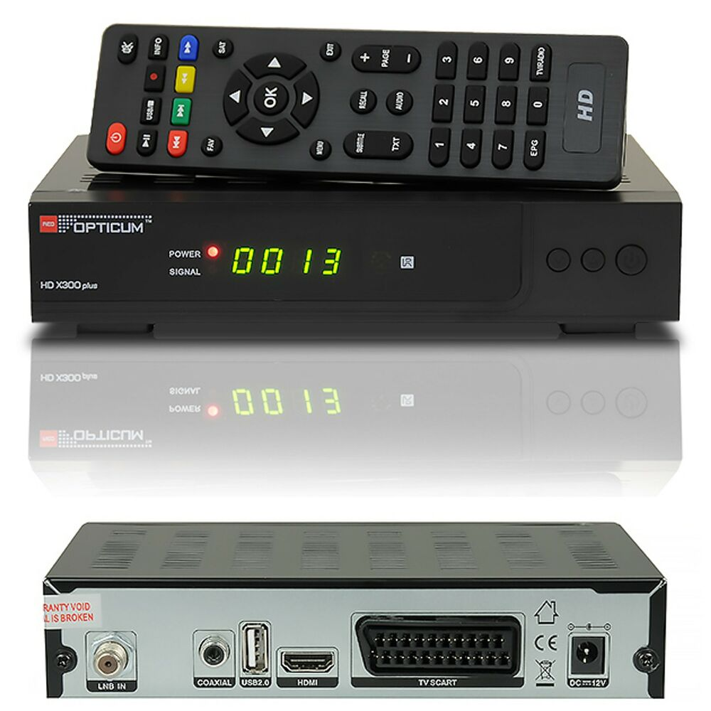 hdtv hd full digital sat receiver opticum ax300 x300 hdmi dvb s2 1080p silber ebay. Black Bedroom Furniture Sets. Home Design Ideas