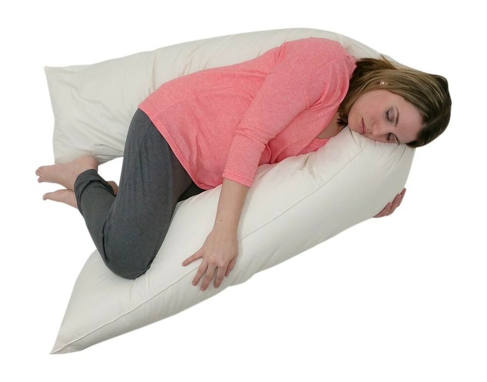 Junior Size Total Body Pregnancy Pillow Full Support