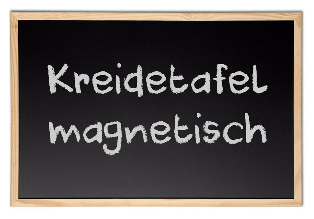 kreidetafel schultafel magnetisch kreidewand tafel board maltafel magnettafel ebay. Black Bedroom Furniture Sets. Home Design Ideas
