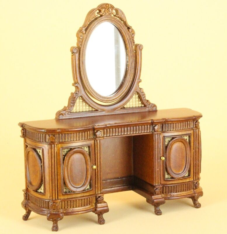 "Dollhouse Miniature ""CHANTILLY"" VANITY/DRESSER 2463-NWN"
