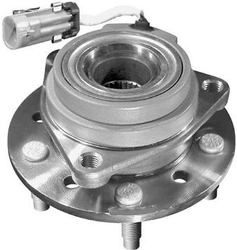 NEW Front Wheel Hub   Bearing wABS fits    Grand       Am    Malibu