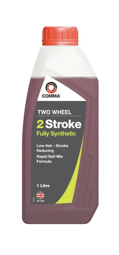 Comma tstfs1l 1l two wheel 2 stroke fully synthetic motor for Best non synthetic motor oil