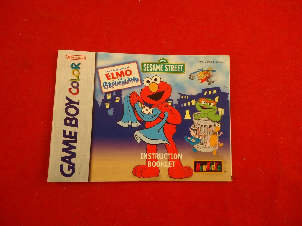 Adventures Of Elmo In Grouchland Game Boy Color