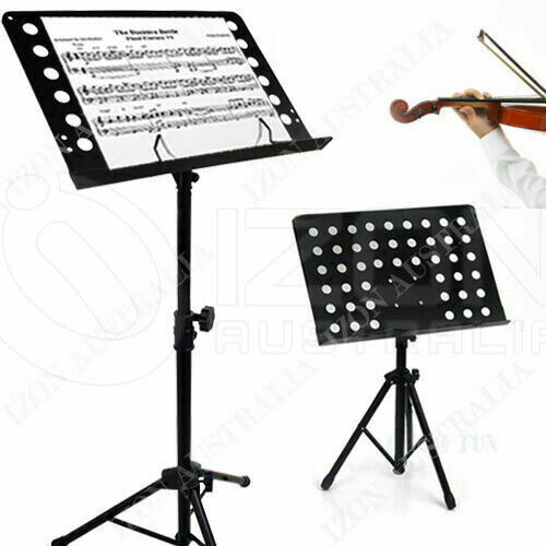 HEAVY DUTY LARGE PROFESSIONAL STAGE MUSIC SHEET STAND ...