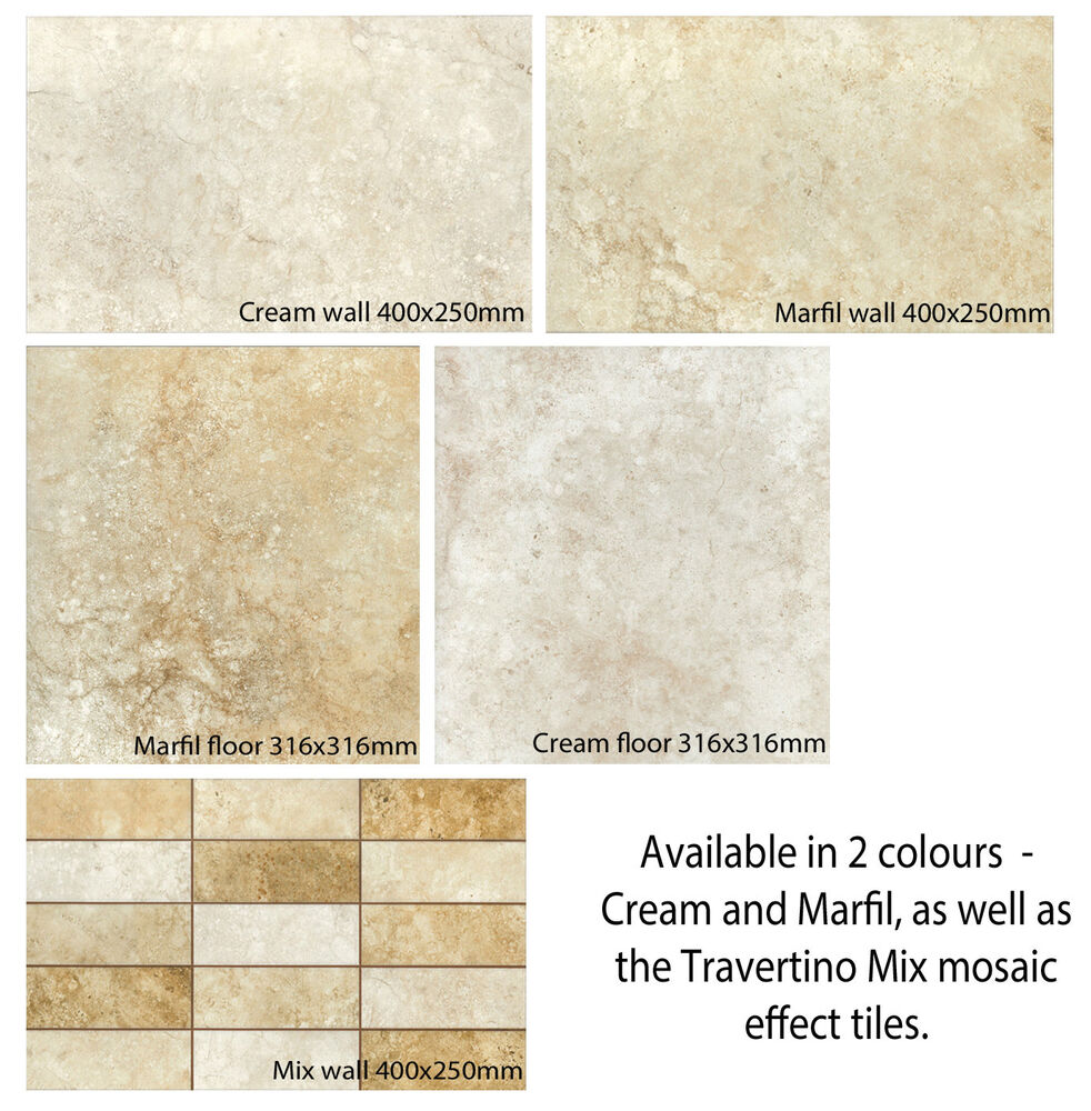 Floor And Decor Wall Tiles : M tiles travertino wall floor available in