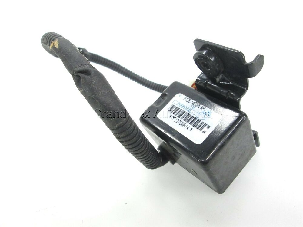 new oem ford air bag crash sensor f4sb 14b005 ab front lh. Black Bedroom Furniture Sets. Home Design Ideas
